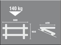 universal dachkonsole dach halter wandhalter f split klimaanlage auch inverter. Black Bedroom Furniture Sets. Home Design Ideas