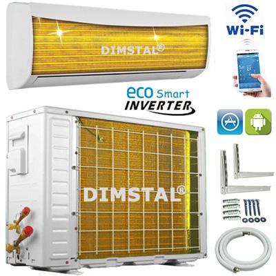 golden fin smnd 24 eco wifi smart inverter klimager t. Black Bedroom Furniture Sets. Home Design Ideas